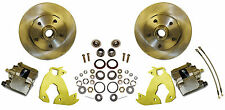 """1960-70 Chevy Truck Complete bolt-on front disc brake economy kit 12"""" rotors"""