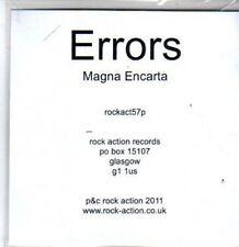 (BR766) Errors,  Magna Encarta - DJ CD