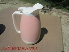 VINTAGE THERMO SERV COFFEE POT PITCHER THERM O SERV PINK SALMON MODERN