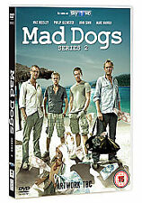 Mad Dogs Complete 2nd Series Dvd Max Beesley Brand New & Factory Sealed