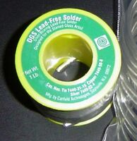 1 Lb.(16 oz.) Canfield DGS with SILVER LEAD FREE Solder good for Jewelry