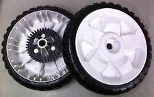 "OEM Toro Lawnmower Rear drive Personal pace Wheels 8"" 115-4695 (Set of 2)"