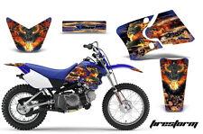 Dirt Bike Graphics Kit Decal Wrap For Yamaha TTR90 TTR90E 2000-2007 FIRESTORM U