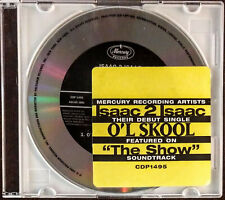 ISAAC 2 ISAAC - O'L SKOOL - 2 Track 1995 Promo Cd with Hype - R&B Funk Soul