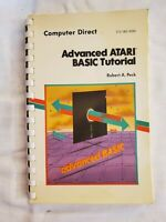 Advanced ATARI BASIC Tutorial by Robert A. Peck preowned Spiral-bound SHIPS FREE