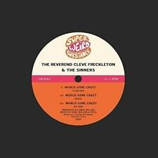 "The Reverend Cleve Freckleton & The Sinners - World Gone  (NEW 12"" VINYL SINGLE)"