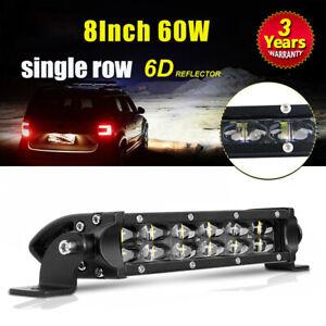 Osram 8INCH LED Light Bar Spot Flood Combo Beam Fog Snow Lamp For Truck