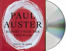 REPORT FROM THE INTERIOR By Paul Auster 2013, 6 CD Set, Unabridged Audiobook NEW
