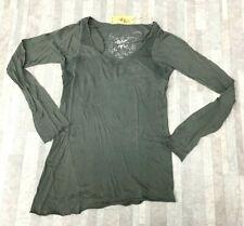 NEW Da-Nang Surplus Women's Cotton Pine Long Sleeve Blouse CFG2136 SMALL/ S