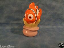 """Disney / Pixar Finding Nemo Rubber Squeak Bath Figure 4 3/4"""""""