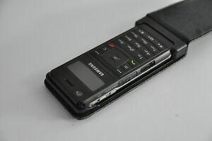 Samsung SGH-F300 ULTRA MUSIC Player Smartphone Mobile BLACK Collectable