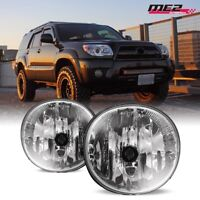 For 2004-2005 Toyota RAV4 Winjet OE Factory Fit Fog Light Bumper Kit Clear Lens