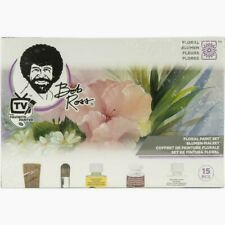 Bob Ross 15 Piece Master Paint Set Floral New