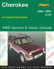 Gregory's Service Repair Manual Jeep Cherokee Wagoneer Comanche 1984-01 WORKSHOP