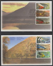 CANADA #1715-1720 45¢ FISHING FLIES FIRST DAY COVERS