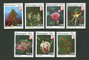 Nicaragua Scott #1191//C1033 MNH Plants Flowers FLORA CV$3+