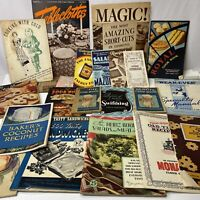 LOT Vintage 1920s-1940s Historical Original Antique Cook Books Cookbooks Canada