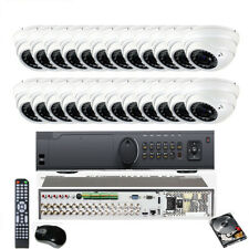 32Channel 4K 8Mp Dvr 4-in-1 2.6Mp 2.8-12mm Zoom 36Ir 24 Dome Security Camera 8h7
