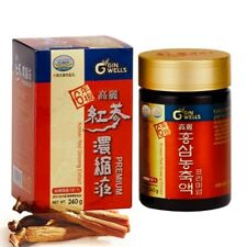 ILHWA Korean 6 Year Root Red Ginseng Extract 240g(8.46oz) Pure 100%, panax