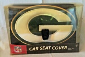 Northwest Co. One Size NFL Green Bay Packers Car Seat Cover. NEW Never Opened!