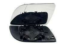 VW POLO 2002-05 DOOR WING MIRROR GLASS HEATED  LEFT