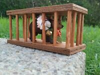 Unofficial MIDSOMMAR BEAR IN A CAGE FIGURE a24 handmade Life is Terrible Toys