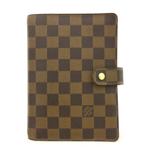100% Authentic Louis Vuitton Damier Agenda MM Notebook Cover /71074