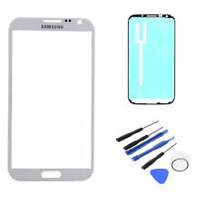 White Display Lens Screen Glass Assembly For Samsung Galaxy Note 2 II N7100 T889