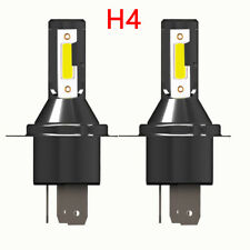 Pair H4 Car LED Headlight Headlamp 26000LM 6000K 110W Kit Conversion Bulb