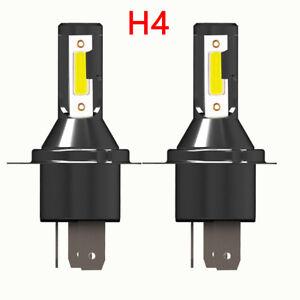 Pair H4 Car LED Headlight Headlamp 26000LM 6000K 110W Kit Conversion Bulb
