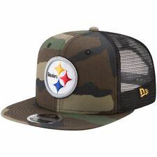 New Era 9Fifty Mesh Snapback Cap Pittsburgh Steelers wood