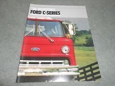 1989 FORD C-SERIES TRUCK SALES BROCHURE, SHOWROOM CATALOG FTO-2907 12/88