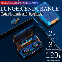 Bluetooth 5.0 Headset TWS Wireless Mini Earphones Earbuds Stereo Headphones US
