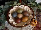 Primitive Country Eggs Rustic Farmhouse Decorative Egg Basket Bowl Fillers