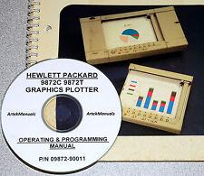Hp 9872C 9872T Graphics Plotter, Operating & Programming Manual