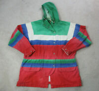 VINTAGE Ralph Lauren Polo Jacket Adult Extra Large Red Green Sailing RL93 Mens *