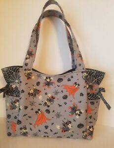 Mickey and Minnie Mouse Halloween Handmade Tote/Purse/Handbag