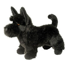 Douglas Cuddle Toy Stuffed Animal Plush Scottish Terrier Black Scottie Dog Puppy