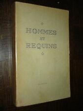 HOMMES ET REQUINS - Hans Hass1952 - Plongée sous-marine