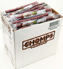 SEALED 144-pc Chomps 100% Grass Fed Beef Sticks Original Jerky Gluten-Free Paleo