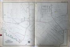 1907 E. ROBINSON, RICHMOND, STATEN ISLAND, NY ST. ANDREW'S CHURCH COPY ATLAS MAP