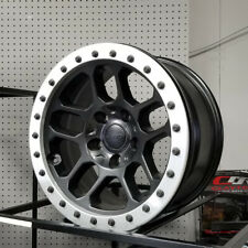 "1 x MOPAR Bead Lock Wheel, Alu, 17x8"" for 07-up Wrangler JK/JL 77072326AB BLEM"