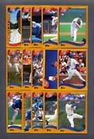 2002 Topps CHICAGO CUBS Team Set (30) Cards
