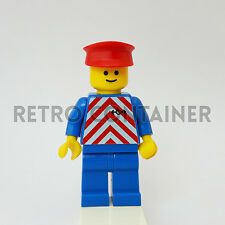 LEGO Minifigures - 1x trn050 - Railway Worker - Trains Omino Minifig 4554 4558
