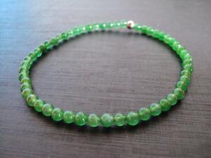 Jade anklets,Green anklets,Stone anklets,Women anklets