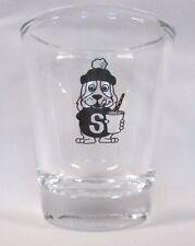 Slush Puppy Beverage Image on Clear Shot Glass