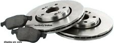 Landcruiser BRAKE DISCS & PADS FRONT 40 60 70 series  Quality Aust STD Rotors