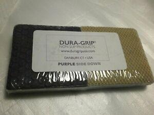 """DURA-GRIP Heavy Duty 3"""" Square, 3/8"""" Thick Non-Slip Rubber (No Glue or Nails)"""