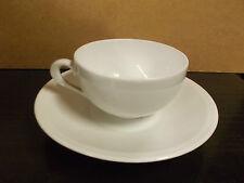 Tazze the porcellana RICHARD GINORI bianco liscio pz 6-White tea cups-CUPS-TAZA