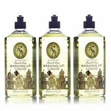 Basil & Lime Superior Antibacterial Dish Washing Up Liquid Multi Pack-Town Talk